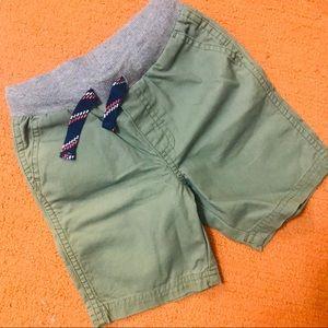 Carter's Toddler Shorts NWOT Olive Green